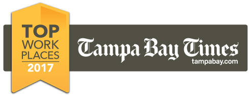 Front Burner Brands, Tampa Bay Times Top Places to Work Award Logo