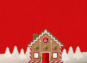 Front Burner Holiday Card Background Header